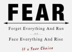 The Fear Factor as an Entrepreneur