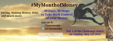 Get in on it! #MyMonthofMoney