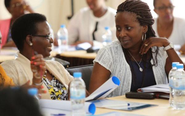 Centonomy training in Rwanda with the first lady