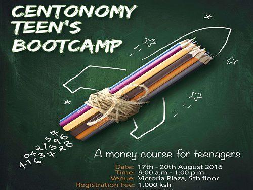 17th August, Centonomy Teens' Bootcamp
