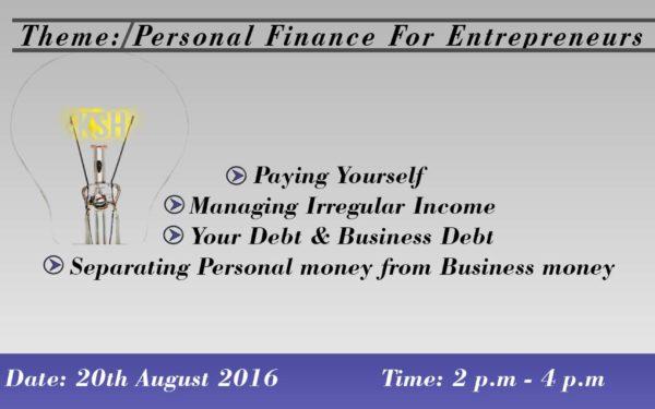 20th August, Centonomy Entrepreneur Chats