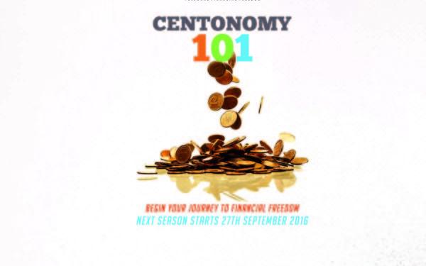 Centonomy 101 begins on 27th September