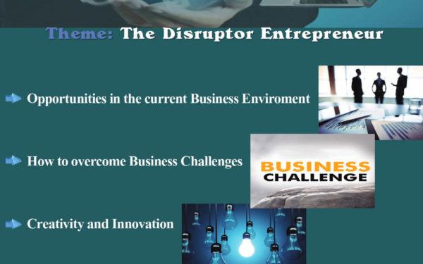 The Disruptor Entrepreneur, Saturday 8th October – Free Event