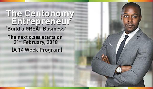 Register for The Centonomy Entrepreneur Season 22, starts 21st February 2018
