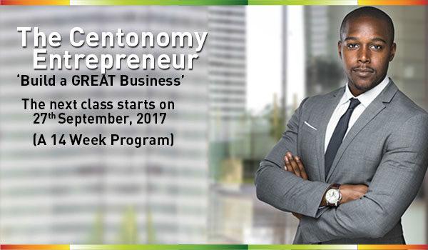 Register for the Centonomy Entrepreneur Program starts on 27th September.