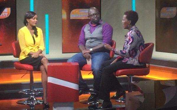 Waceke Nduati, on Citizen TV's Power Breakfast