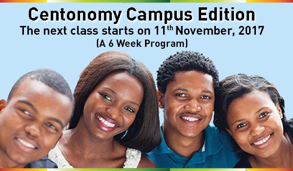 Register for Centonomy Campus Edition starts on 11th November 2017
