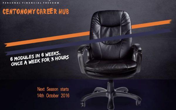 Centonomy Career Hub begins on 14th October