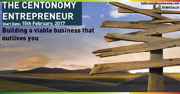 Register for The Centonomy Entrepreneur Program