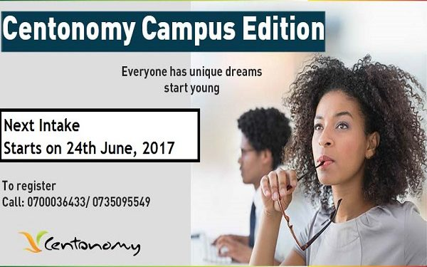Enroll for the next Centonomy Campus Edition starting, 24th June, 2017