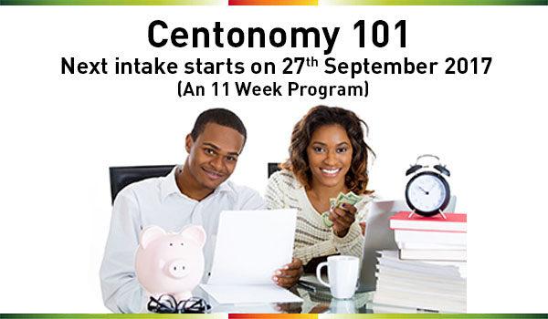 Register for Centonomy 101, starts on 26th Septembe, 2017