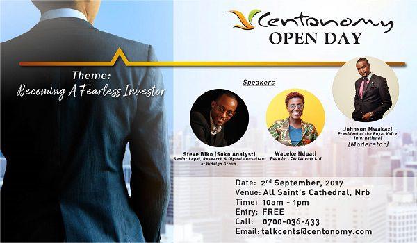 Centonomy Open Day, 2nd September, 2017