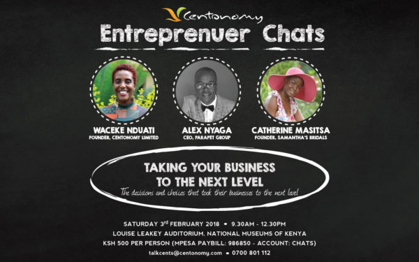 Centonomy Entrepreneur Chats-3rd February